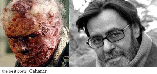 greem5 عکس های دیدنی از گریم های جالب بازیگران ایرانی