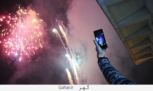 140185 عکس های دیدنی نورافشانی برج میلاد بمناسبت 22 بهمن