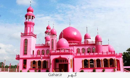 788607 210 عکس ؛ مسجدی صورتی شکل در فیلیپین!