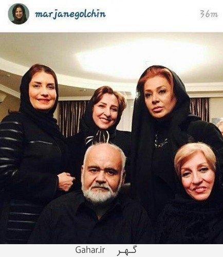 akbar.abdi1  خنده بازیگران زن در مراسم ختم پدر اکبر عبدی !