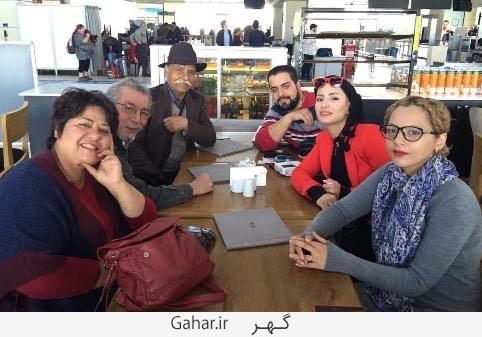 chakamehchamanmah1 copy عکس بازیگران مهاجرت کرده به خارج از کشور در کنار هم