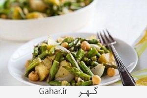 roasted asparagus salad2 برای لاغر شدن سالاد مارچوبه بخورید + طرز تهیه