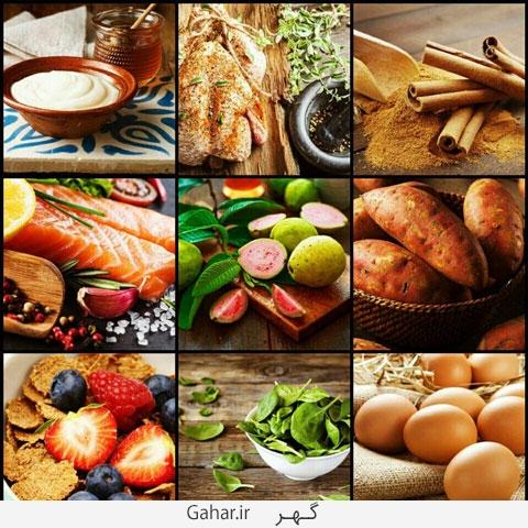 822283 789 معرفی مواد غذایی مفید برای زیبایی و سلامت مو