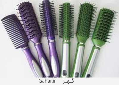 ar4 5404 انتخاب برس مناسب برای انواع موها