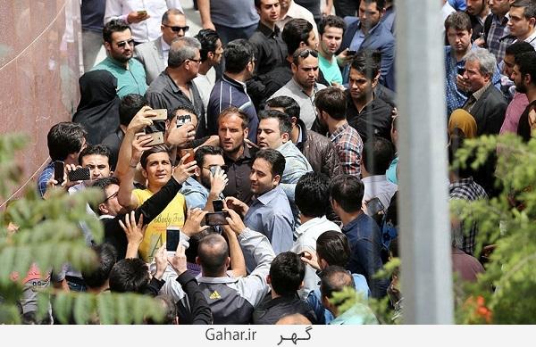 khatme oladi صحنه های زشت در مراسم ختم مهرداد اولادی در تهران