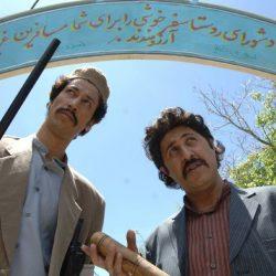 عکسهای جالب الاغ سواری بازیگران سریال علی البدل