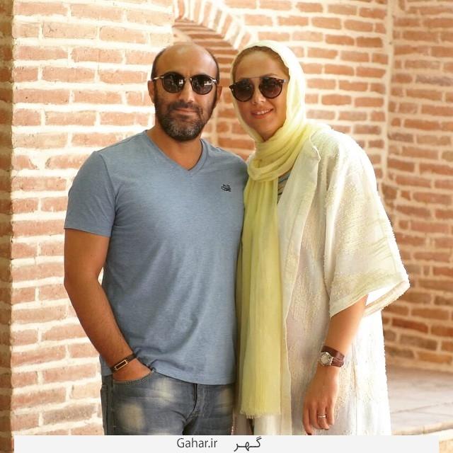 جدیدترین عکس محسن تنابنده و همسرش روشنک گلپا, جدید 99 -گهر