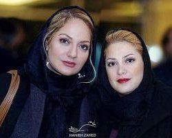 عکس مهناز افشار و خواهرش در آرایشگاه