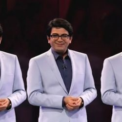 مصاحبه با فرزاد حسنی در مورد کلیپ توهین به مهمان برنامه اکسیر