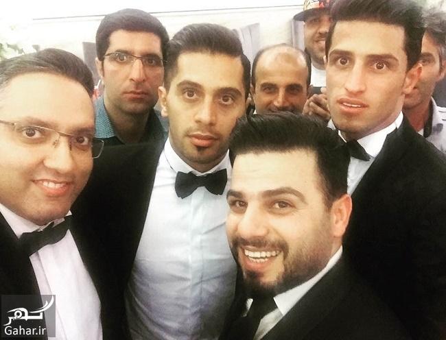 ali alippor arusi عکس های بازیکنان پرسپولیس در مراسم عروسی علی علیپور