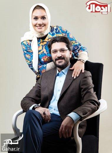 amir hossein modares امیرحسین مدرس از ازدواج دومش می گوید ، گفتگو با او و همسرش