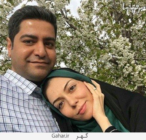 azadeh namdari 1 عکس عاشقانه و جالب آزاده نامداری و همسرش در اینستاگرام