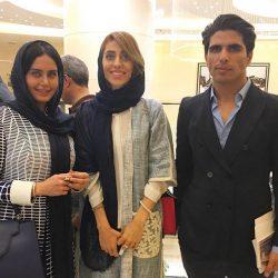 عکسهای الناز شاکردوست در پنجمین حراج تهران