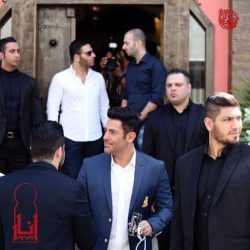 عکس های محمدرضا گلزار و برادرش بردیا در افتتاحیه رستوران انار