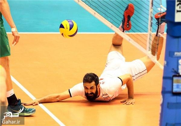 saeid maroof rio والیبال ایران در قدم اول استرالیا را در هم کوبید + فیلم