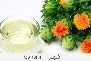 saffloweroil داشتن شکم صاف با مصرف روغن گلرنگ