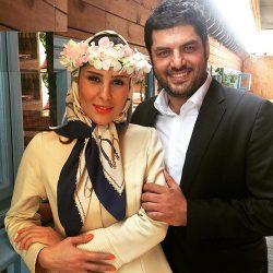 عکسهای جدید سام درخشانی و همسرش