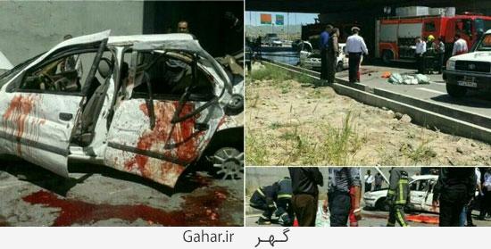 tasadof 3dokhtar مرگ دلخراش 3 دختر دانشجو قزوینی ؛ عکس