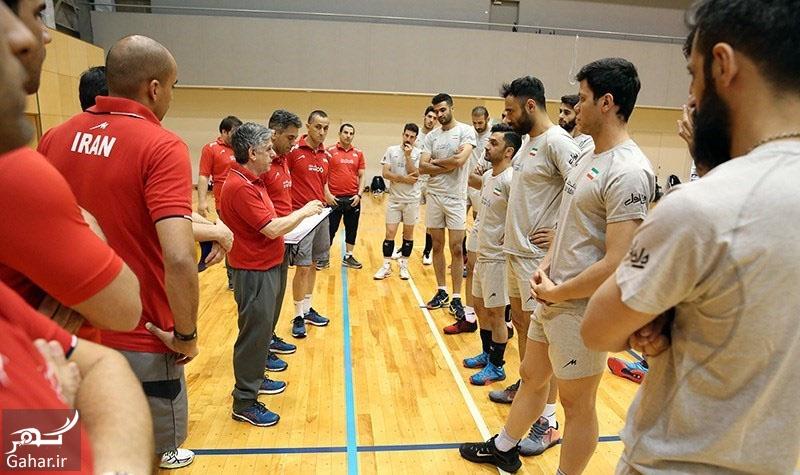 volleyball team اسامی 14 بازیکن انتخابی المپیک تیم ملی والیبال