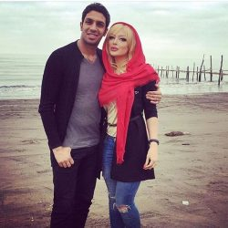 پدر همسر سپهر حیدری درگذشت + عکس پدر همسرش