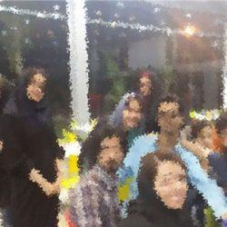 افطاری مختلط در دانشگاه امیرکبیر ؛ عکس