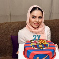 عکس های جشن تولد آزاده زارعی با حضور هنرمندان و ورزشکاران