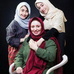 مصاحبه جذاب و خواندنی با ژاله صامتی و دو دخترش