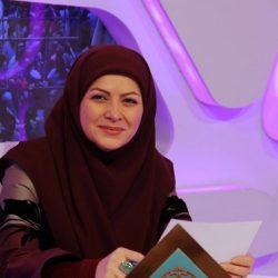 عکس زهره هاشمی و همسرش ، مجری تلویزیون