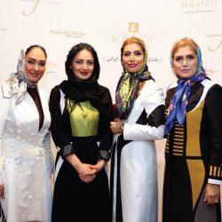 عکس های شیلا خداد و الهام حمیدی در آتلیه طراحی مد