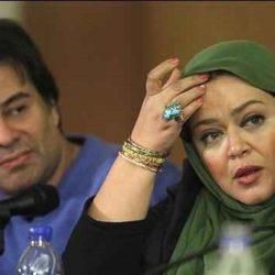 عکس: حرکت عجیب پیمان قاسمخانی و همسرش در یک مراسم