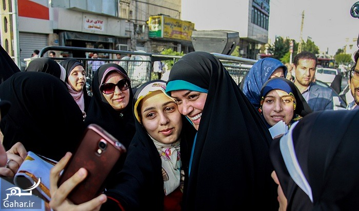 659255 347 عکس های الهام چرخنده در راهپیمایی عفاف و حجاب