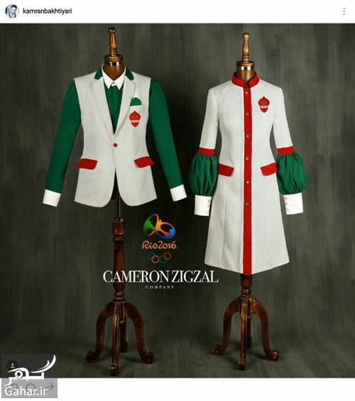 938557 651 طرح نهایی لباس کاروان المپیک و پرو آن توسط دو ورزشکار