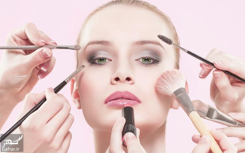 arayesh آمورش کانتورینگ صورت یا آرایش ترمیمی برای فرم صورت های مختلف