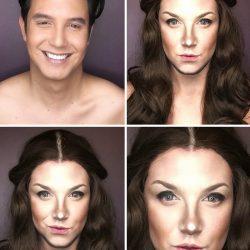 مردی که با آرایش شبیه هفت بازیگر سریال تاج و تخت شد ؛ عکس