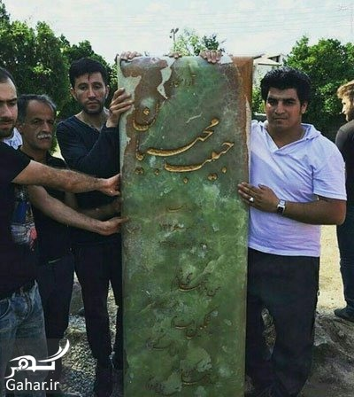 habib 1 copy copy عکس: سنگ قبر حبیب در آستانه مراسم چهلمش