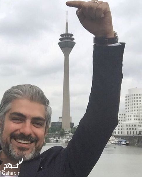 mehdi pakdel 15 تبریک تولد متفاوت بهنوش طباطبایی به همسرش