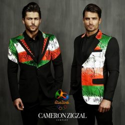 طرح پیشنهادی و جدید لباس المیپک ایران توسط کامران بختیاری