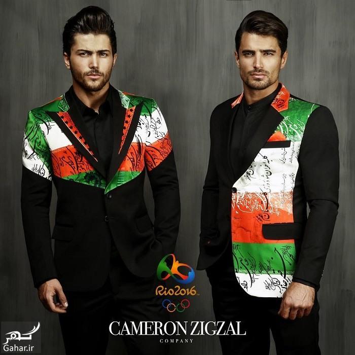 rio2016 cameronzigzal kamran bakhtiari طرح پیشنهادی و جدید لباس المیپک ایران توسط کامران بختیاری