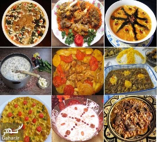 3 طرز تهیه انواع غذاهای محلی اردبیل