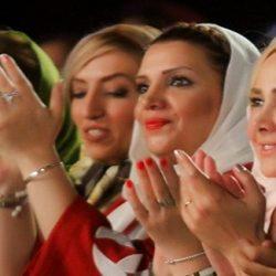 عکس بازیگران در کنسرت شهرام ناظری و حافظ ناظری در برج میلاد