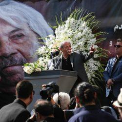 تصاویر و گزارش تشییع پیکر داوود رشیدی
