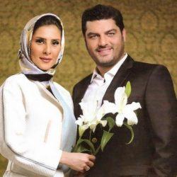 جدیدترین عکس سام درخشانی و همسرش ۹۵
