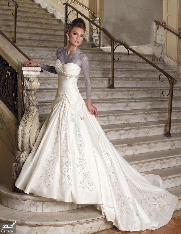leb8 جدیدترین مدل لباس عروس اروپایی سال 2016