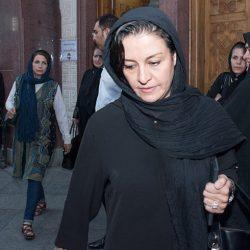 عکسهای بازیگران زن در مراسم ختم داوود رشیدی