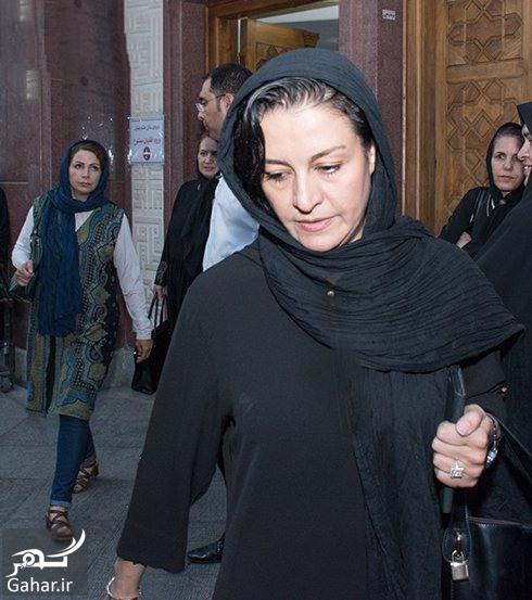 عکسهای بازیگران زن در مراسم ختم داوود رشیدی, جدید 1400 -گهر