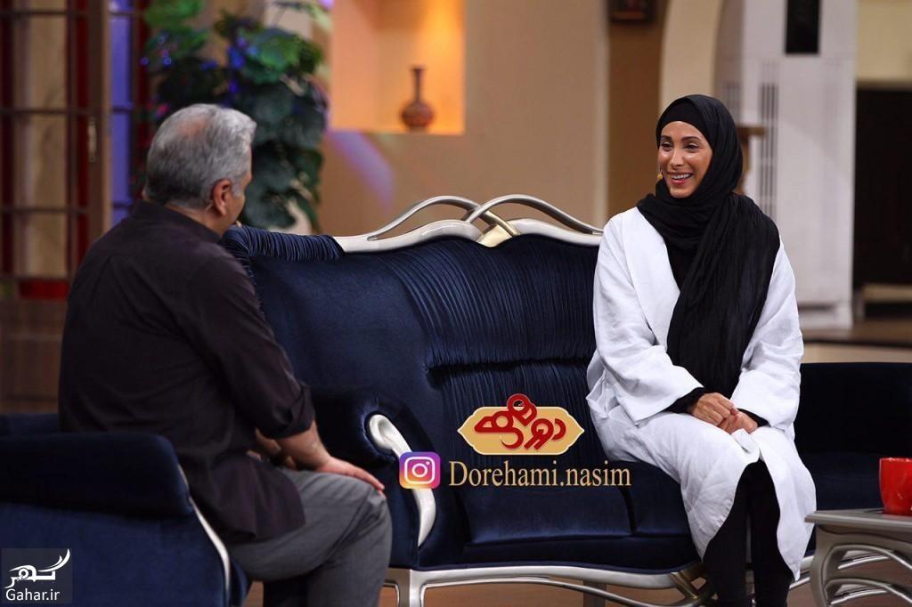حضور سحر زکریا در دورهمی ؛ اعتراض یک نشریه به مجرد ماندنش + واکنش تند او, جدید 1400 -گهر