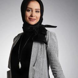 عکس الناز حبیبی در چالش عکس بدون آرایش