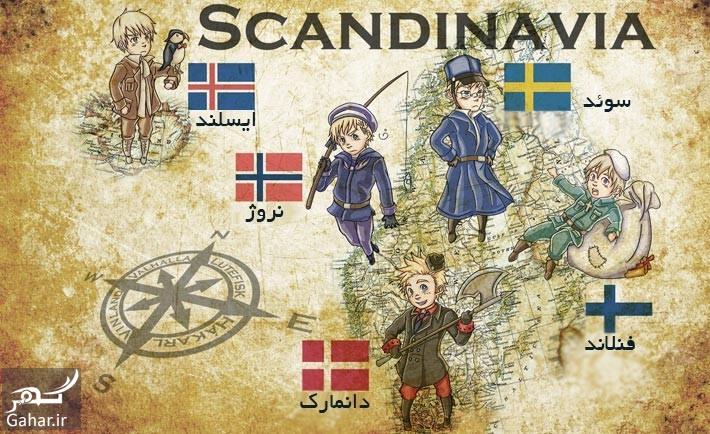 آشنایی با کشورهای اسکاندیناوی, جدید 1400 -گهر