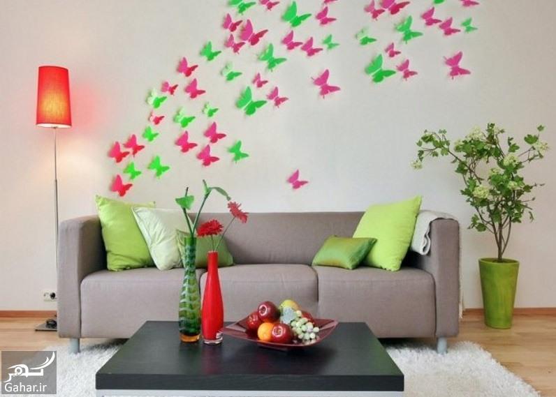 روش های ارزان و زیبا برای تزیین دیوار خانه, جدید 1400 -گهر