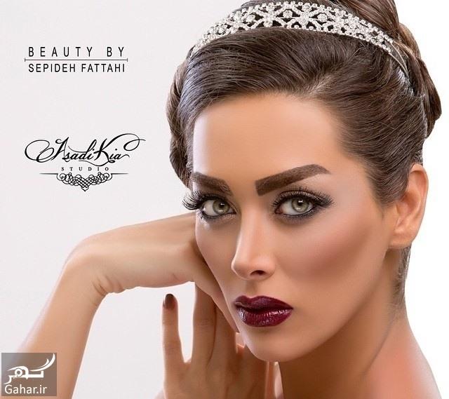 arayesh aroos zeba6 زیباترین مدل میکاپ عروس ویژه عروس خانم های با سلیقه